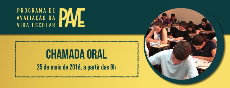 Chamada Oral PAVE