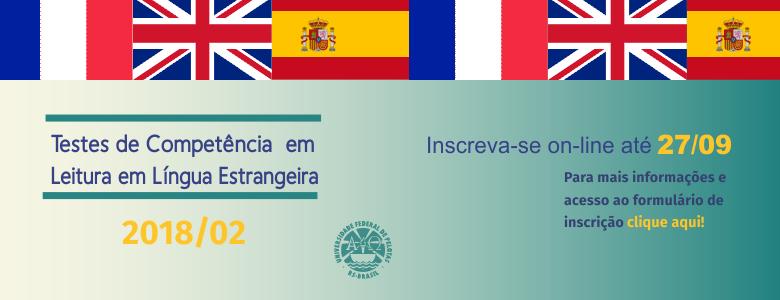 Testes de Competência Leitura em Língua Estrangeira