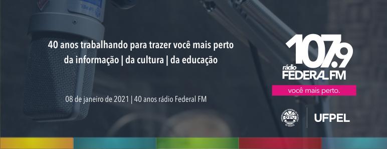 Rádio Federal – 40 anos