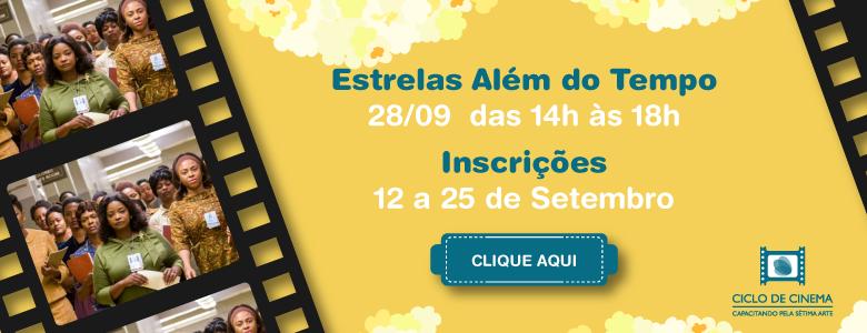 Ciclo de Cinema – Sessão 04 – Estrelas Além do Tempo
